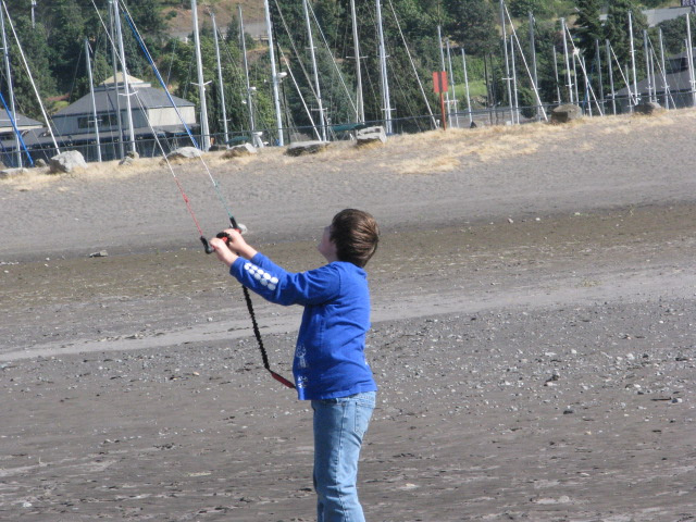 kid kiteboard lessons in hood river, or